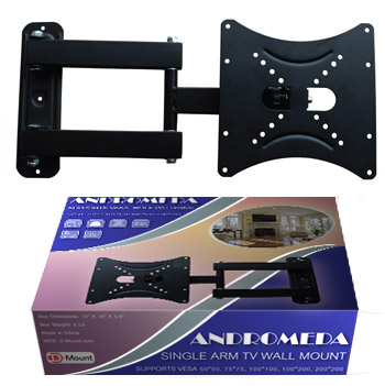 "TV1163B-B Black VESA 14-37"" TV Wall Mount"