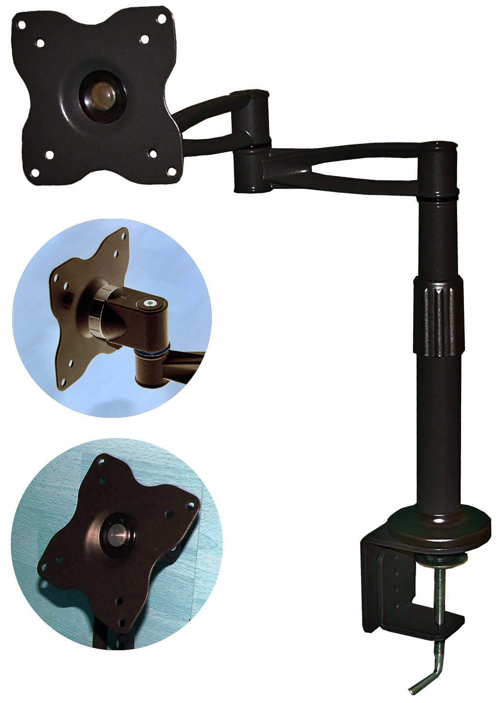 1411B 5 Way Desk Mount
